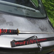Florida man brandishes samurai sword during road-rage incident