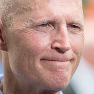 Rick Scott sidesteps questions about Trump's military transgender ban