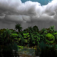 'Roadsides and Skylines' at Avalon Gallery is a kaleidoscopic look at hidden Floridas