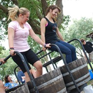 Lakeridge Winery hosts annual Harvest Grape Stomp this weekend