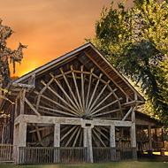 The Old Spanish Sugar Mill is staying put at DeLeon Springs State Park