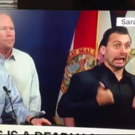 Florida Gov. Rick Scott's Hurricane Irma interpreter is doing amazing work