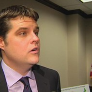 Florida Rep. Matt Gaetz was literally the only person to vote against an anti-human trafficking bill