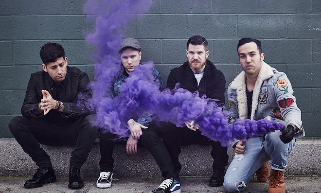 PHOTO BY PAMELA LITTKY VIA FALL OUT BOY/FACEBOOK