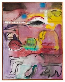 """Marilyn,"" By Grace Hartigan (1962)"