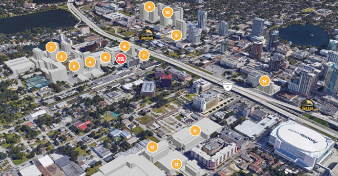 DOWNTOWN'S CREATIVE VILLAGE MAP
