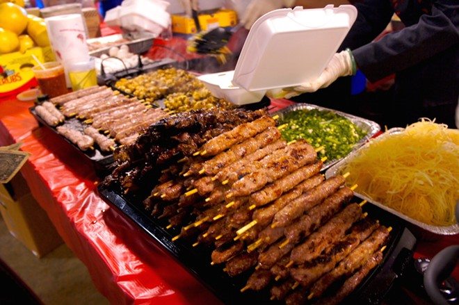 What's a festival without food on a stick? - PHOTO COURTESY TASTYCHOMPS.COM