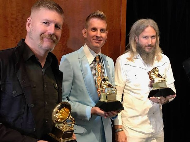 Georgia's Msastodon scooped up a Grammy for Best Metal Performance with technical help from two Full Sail grads - PHOTO VIA MASTODON/FACEBOOK