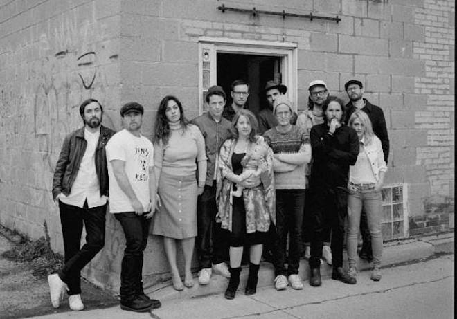 Broken Social Scene - PHOTO BY NORMAN WONG VIA GRANDSTAND MEDIA