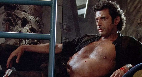 Jeff Goldblum in Jurassic Park