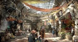Merchant's Row at Star Wars: Galaxy's Edge - IMAGE VIA DISNEY