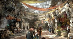 Merchant's Row at Star Wars: Galaxy's Edge - IMAGE VIA DISNEY