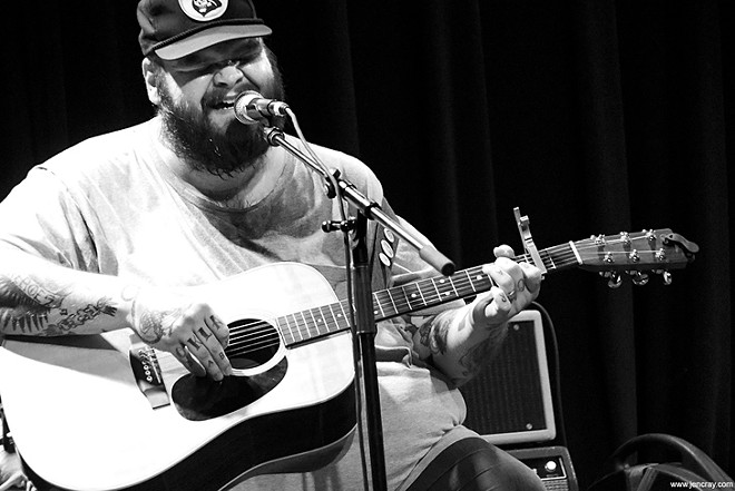 John Moreland at the Social - JEN CRAY