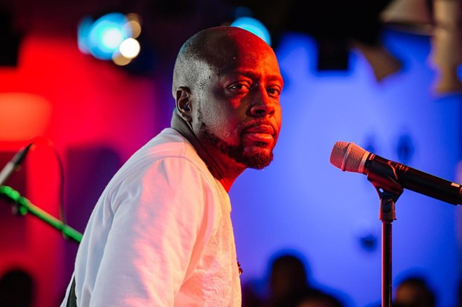 PHOTO VIA WYCLEF/FACEBOOK
