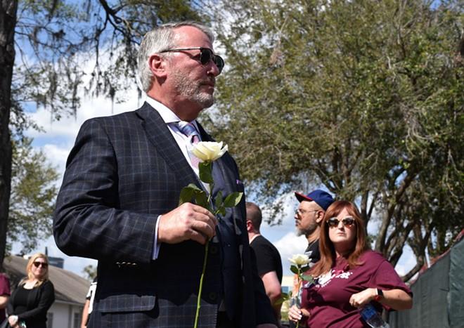 Orlando Mayor Buddy Dyer - PHOTO BY MONIVETTE CORDEIRO