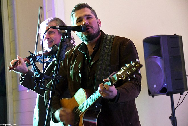 Sean Holcomb and John Zerrip at the Veranda Live - JEN CRAY