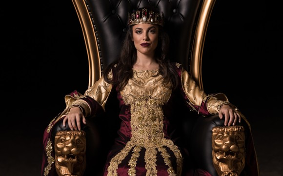 One of the new Medieval Times queens - IMAGE VIA MEDIEVAL TIMES