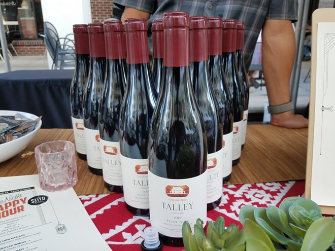 Talley Vineyards Pinot Noir - FAIYAZ KARA