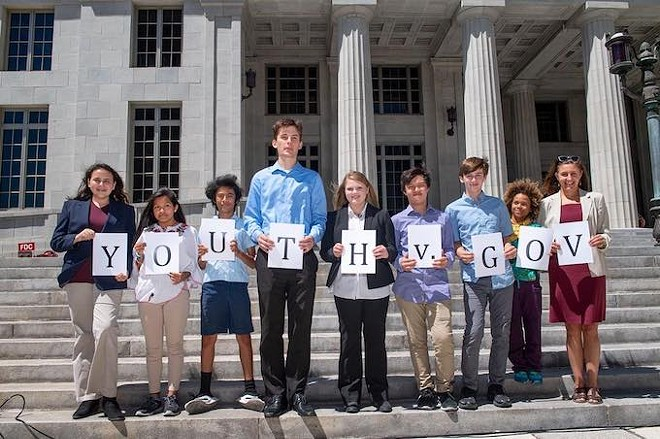 """Eight youths are suing the state of Florida and Gov. Rick Scott over climate change. They would like to see a """"climate recovery plan"""" put in place. - PHOTO COURTESY OUR CHILDREN'S TRUST"""