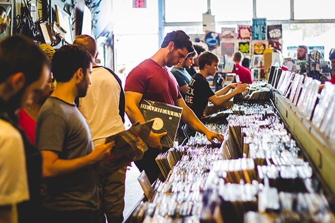 Record Store Days Of Yore - PHOTO BY JAMES DECHERT FOR ORLANDO WEEKLY