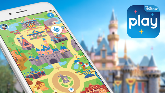 The new Play Disney Parks app - IMAGE VIA DISNEY PARKS BLOG