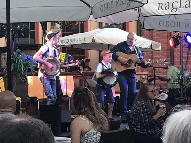 The Byrne Brothers at Raglan Road