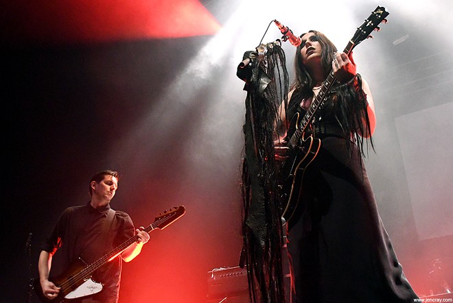 Chelsea Wolfe at Hard Rock Live - JEN CRAY