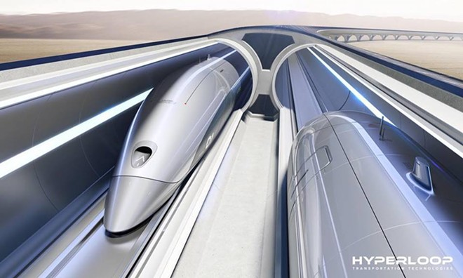 IMAGE VIA HYPERLOOP TRANSPORTATION TECHNOLOGIES | FACEOOOK