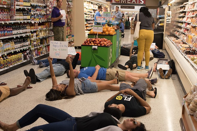 PHOTO FROM THE ORLANDO DIE-IN BY MONIVETTE CORDEIRO