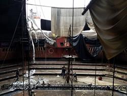 The Pirates Dinner Adventure post-Hurricane Irma - IMAGE VIA PIRATES DINNER ADVENTURE | FACEBOOK