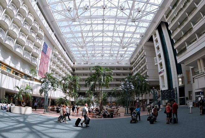 PHOTO VIA ORLANDO INTERNATIONAL AIRPORT FACEBOOK