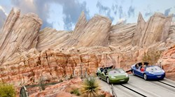 Radiator Springs Racers at Disney California Adventure - IMAGE VIA DISNEY