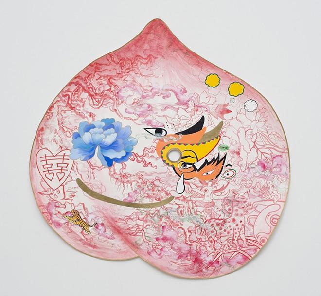 """""""peach mask II""""   by jiha moon"""