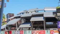Jaleo by Chef José Andrés under construction at Disney Springs. - IMAGE VIA BIORECONSTRUCT | TWITTER