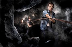 Concept art for the highly themed maze experience at the Bear Grylls Adventure - IMAGE VIA BEAR GRYLLS ADVENTURE   FACEBOOK