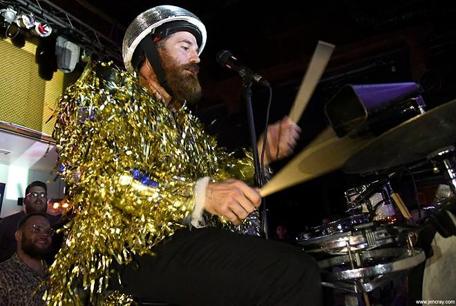DK the Drummer at the Social - JEN CRAY