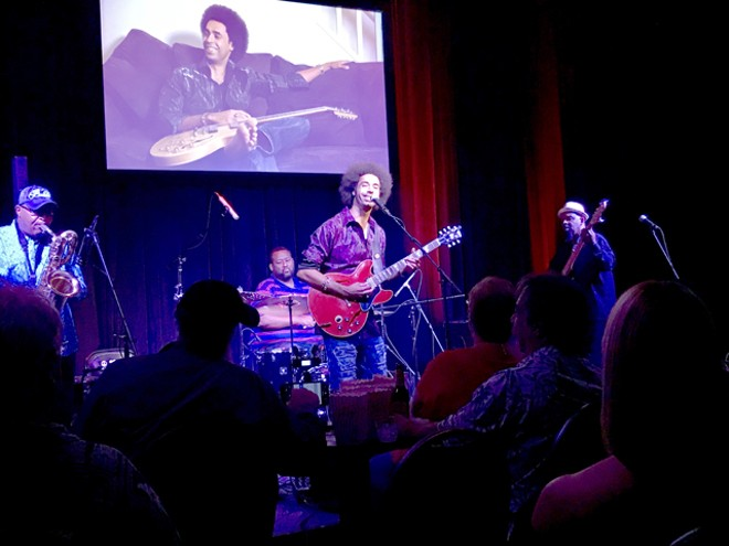 Selwyn Birchwood Band at the Blue Bamboo