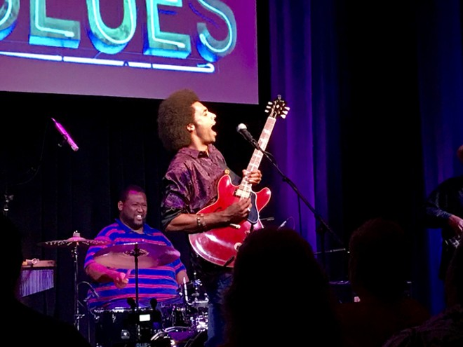 Selwyn Birchwood Band at the Blue Bamboo