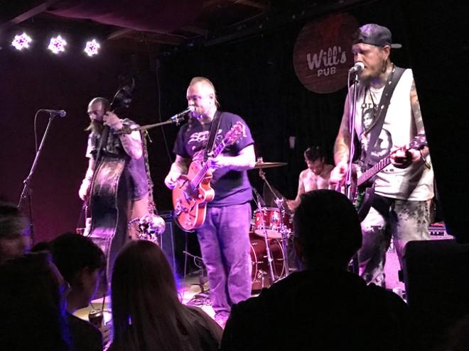 The Goddamn Gallows at Will's Pub - BAO LE-HUU