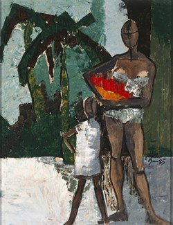 """""""Fruit Pickers,"""" by Jonathan Green"""