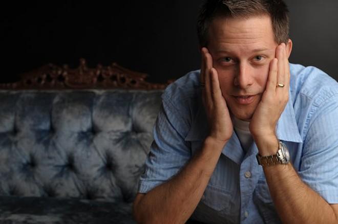 Sunday Night Vinyl host Erik Dennison