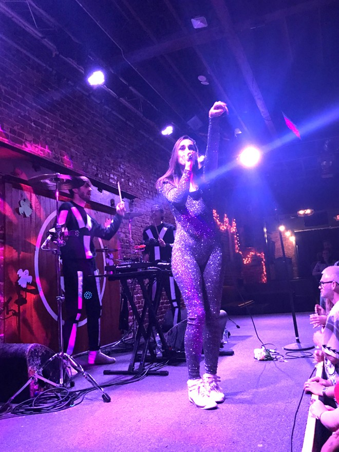Yelle at the Social - BAO LE-HUU