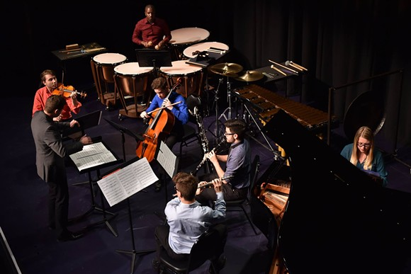 UCF New Music Ensemble - PHOTO VIA UCF SCHOOL OF PERFORMING ARTS/MUSIC