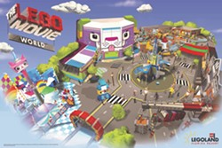 The LEGO Movie World heading to Legoland Florida in 2019 - IMAGE VIA LEGOLAND FLORIDA