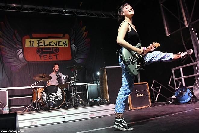Diet Cig at 11Eleven Fest - JEN CRAY