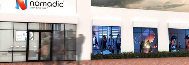 Nomadic's new VR arena at Pointe Orlando - IMAGE VIA NOMADIC VR