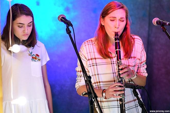 Matthew Fowler and the Prado Sisters at Folk Yeah 3 - JEN CRAY