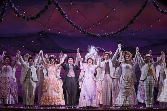 Betty Buckley and the cast of 'Hello, Dolly!' perform at Orlando's Dr. Phillips Center through Dec. 2. - PHOTO CREDIT JULIETA CERVANTES