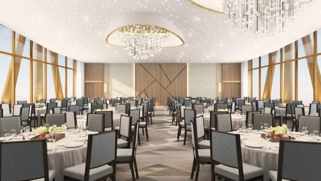 One of the rooftop ballrooms found in WDW's The Cove - IMAGE VIA SWAN AND DOLPHIN | TISHMAN