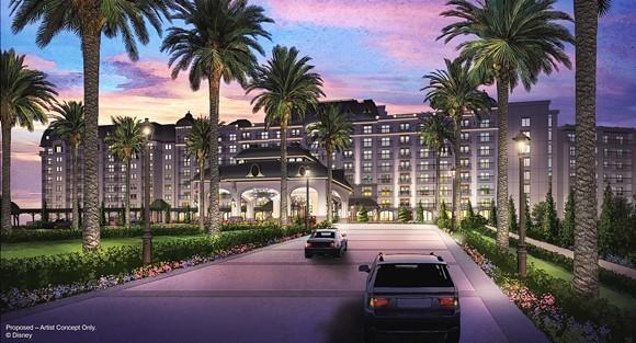 The new Riveria DVC resort at WDW - IMAGE VIA DISNEY